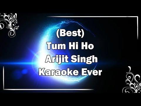TUM HI HO Song Karaoke with Lyrics | Arijit Singh | Aashiqui 2