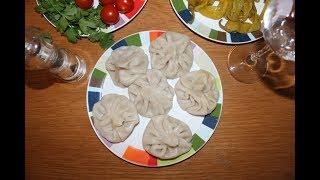 Хинкали - подробный рецепт приготовления теста и фарша. (Georgian Dumpling)