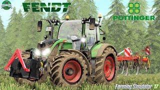 Farming Simulator 17   Fendt 720 S3 + Pöttinger Synkro 3030 Nova