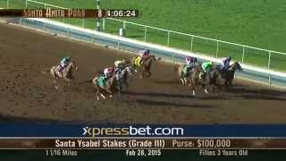 Santa Ysabel Stakes Gr. III - Saturday, February 28 2015 HD