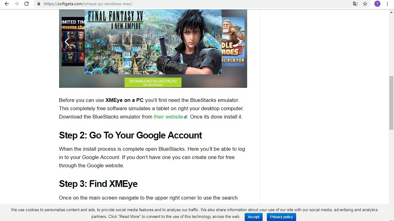 XMEye for PC - Windows 7/8/10 - Free Download - Thủ thuật