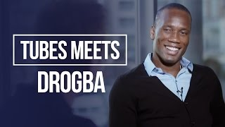 I would have loved to play for Conte! | Tubes Meets Didier Drogba