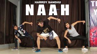 Naah Harrdy Sandhu Dance Choreography | Vicky Patel | Easy Hip hop Beginners class thumbnail