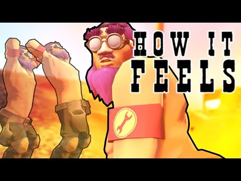 How it FEELS to Play Engineer in TF2