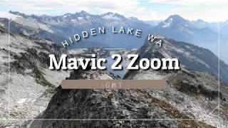 DJI Mavic 2 Zoom at Hidden Lake Lookout