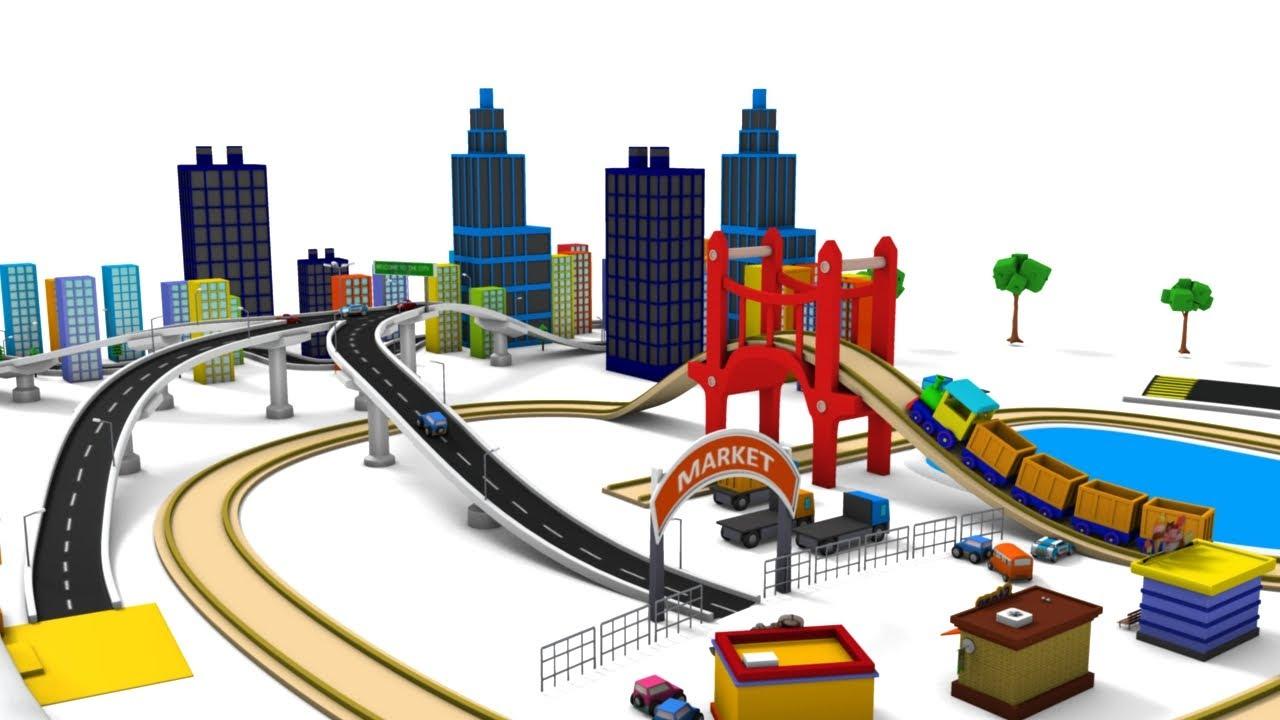 trains for kids choo cho train train cartoon car cartoon