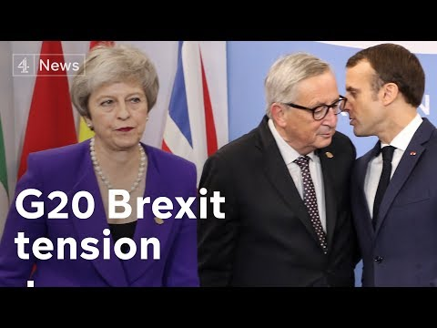 G20: May in Argentina to sell Brexit around the world