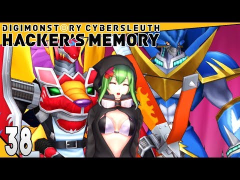 Digimon Story Cyber Sleuth Hackers Memory Part 38 RINA IS CRAZY! Gameplay Walkthrough