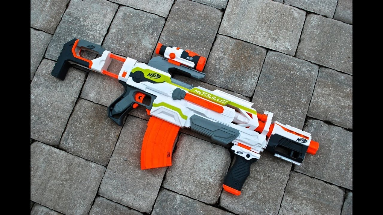 REVIEW Nerf N Strike Modulus ECS 10 Unboxing Review