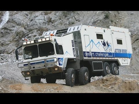 How expedition vehicle manufacturer Action Mobil got started