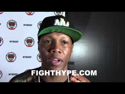 ZAB JUDAH SHOCKED & SPEECHLESS WHEN ASKED ABOUT MAYWEATHER VS. MCGREGOR STORY; TALKS BOXING VS. MMA