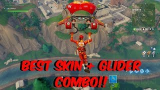 Fortnite Battle Royale - THE BEST SKIN + GLIDER COMBO IN THE GAME!!