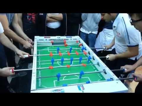 Calcio Balilla SemiFinale: Smario-Monastra VS Braconi-Bertelli