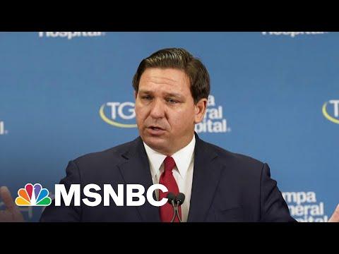 'Trump's Mini-Me': Mehdi On Florida Governor's Pro-Covid, Anti-Democracy Efforts   All In   MSNBC
