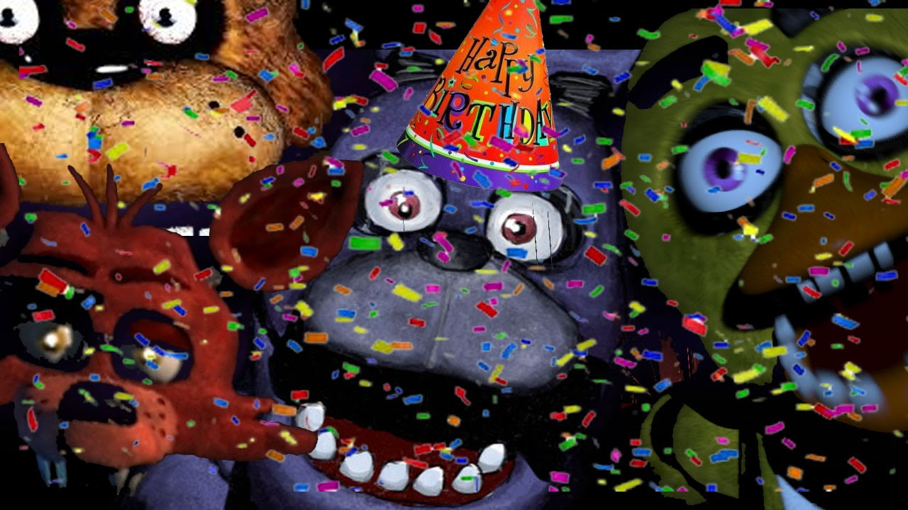 five nights at freddy birthday Five Nights at Freddy's: Bonnie's Birthday Party! | Part 4   YouTube five nights at freddy birthday