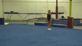 Spotting Techniques: Backhand Spring, Back Tuck, Layout, Full, Double Full, Arabian, Standing Full