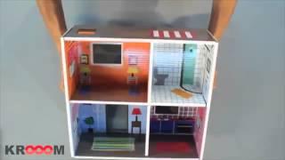 Картонный игровой набор Krooom «Кукольный дом Мюриель»
