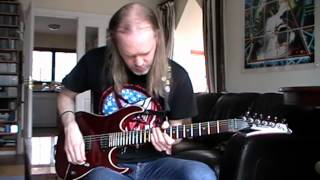 Bruce Dickinson / Adrian Smith - Man Of Sorrows Guitar Tutorial / Lesson