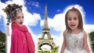 НЯНЯ Алины и Юляшки приглашает девочек в Париж Что случилось у детей