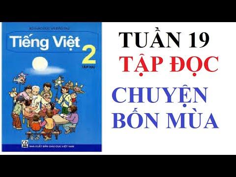 CHUYỆN BỐN MÙA TẬP ĐỌC 2 TẬP 2TUẦN 19 #TIENGVIET2 #TAP2