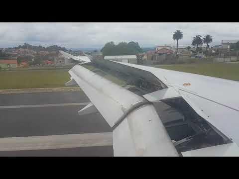 Aterrizando en Alvedro, A Coruña (LECO/LCG)