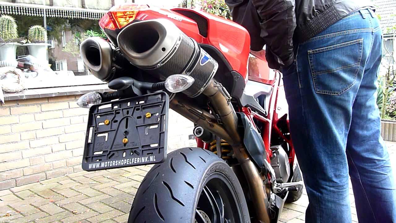 amazing sound, ducati 848 termignoni carbon exhaust wsbk 2011