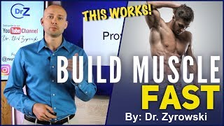 Proven Ways To Build Muscle Fast | For Men AND Woman