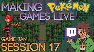 Making Pokemon Games Live (Game Jam Session 17)