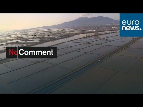 شاهد: أضرار كبيرة خلفتها عاصفة غلوريا في إسبانيا  - نشر قبل 8 ساعة