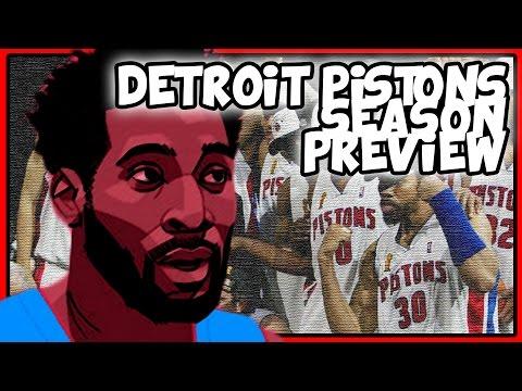 2016-2017 Detroit Pistons Season Preview #DVE