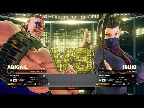 Itazan (Abigail) vs Tachikawa (Ibuki):板ザン(アビゲイル)vs 立川(いぶき)