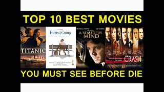 TOP 10 BEST ALL TIME MOVIES YOU MUST SEE BEFORE DIE