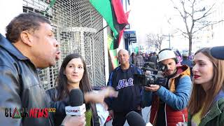 Dr. Reggie Talk About Slavery Concerning Spain With White Woman From Spain