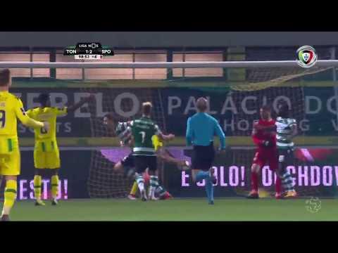 Golo de Coates: Tondela 1-(2) Sporting (Liga 23ªJ)