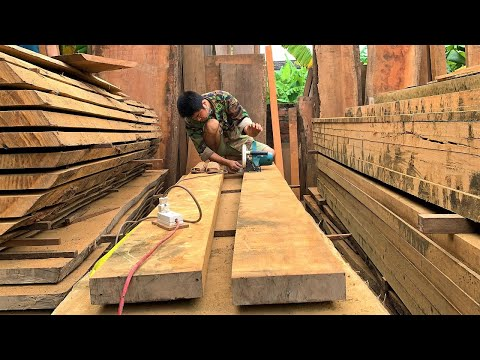 Ingenious Woodworking Workers Techniques & Skills // Amazing Design Extremely Beautiful Large Door