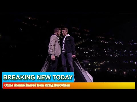 Breaking News - China channel barred from airing Eurovision