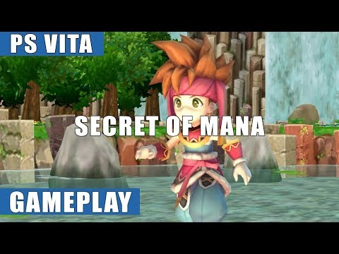 Secret of Mana PS Vita Gameplay