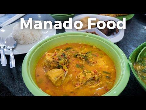 Manado Food at Ikan Tude Bakar Restaurant in Jakarta