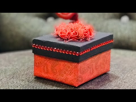 How to make Pull Out Photo Box   Best Handmade gift idea