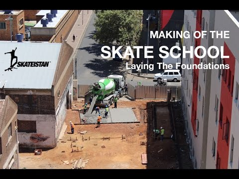 Making of the Skate School: Laying The Foundations