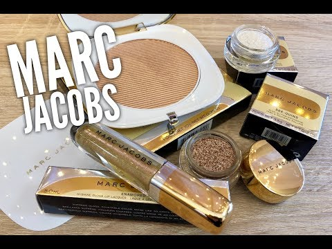 Marc Jacobs Holiday 2018 Collection Review, Demo & Comparisons