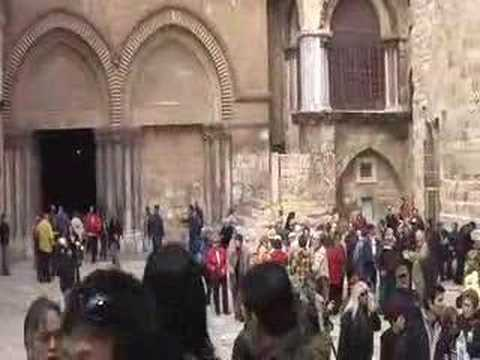 Tour of Jerusalem Jaffa Gate to Church of the Holy Sepulchre