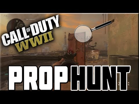 PROP HUNT ON CALL OF DUTY WWII!