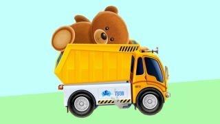 Мультфильмы про машинки - играем в самосвал (грузовик) - приложение для iPAD