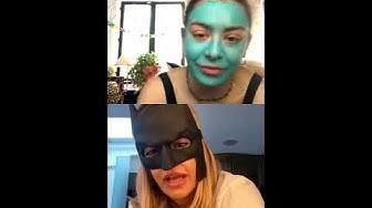 Charli XCX and Rita Ora Instagram Live 3/20