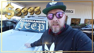 The HEMI Jeep Commander Limited w/4x4 ( RARE FIND ) VLOG REVIEW | Cool Cash Cars!!!