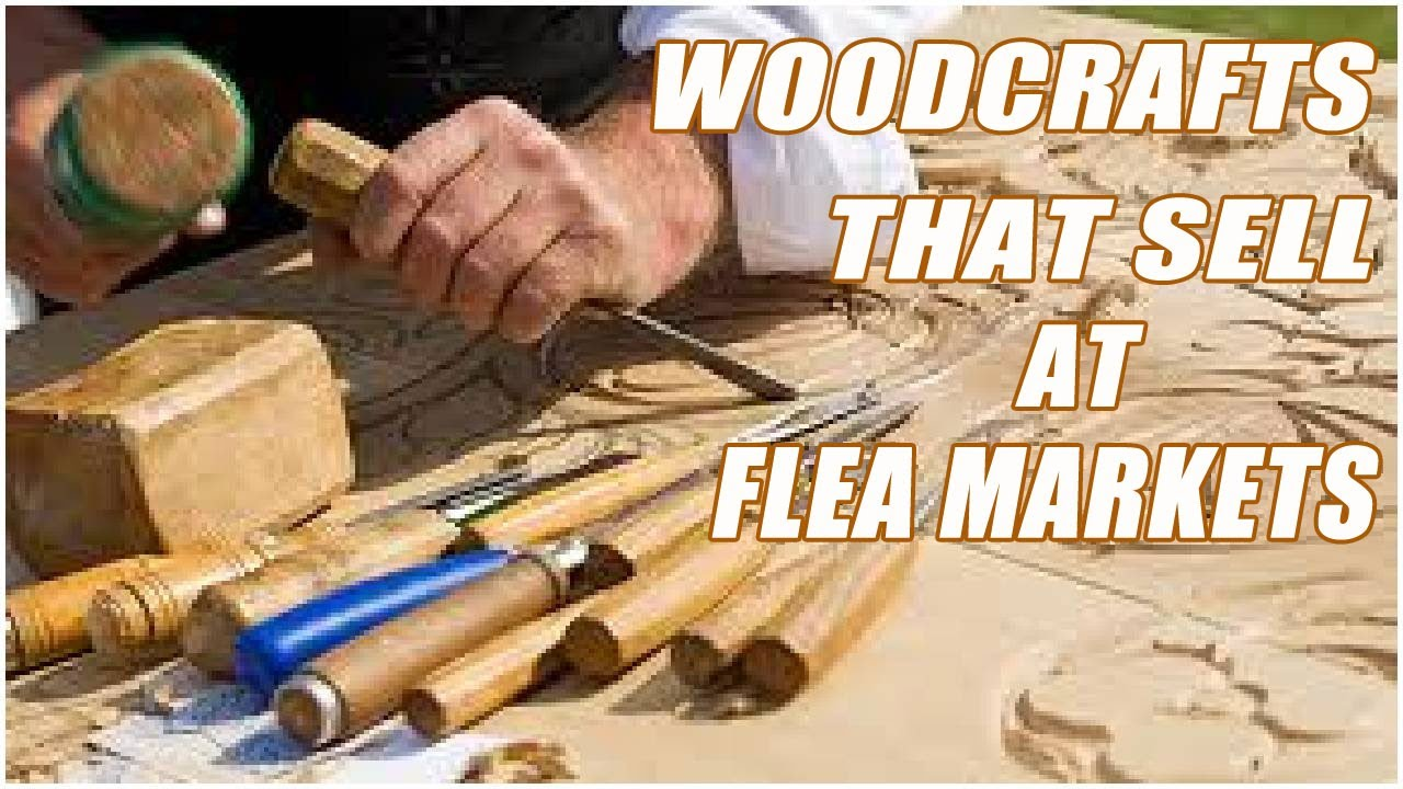 Wood Crafts That Sell At Flea Markets - YouTube