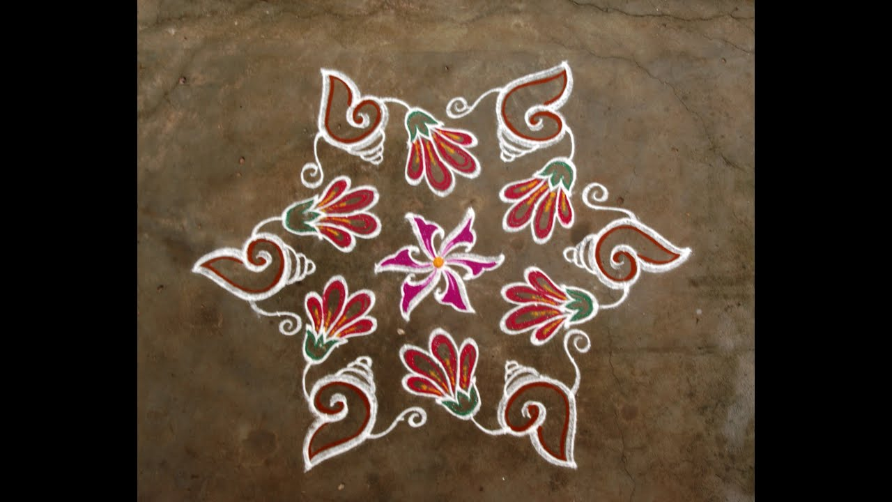 Margazhi Kolangal With Dots