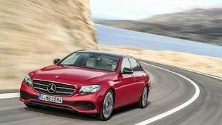 Mercedes-Benz E-class обзор 2016.  Тест-драйв.  Test Drive