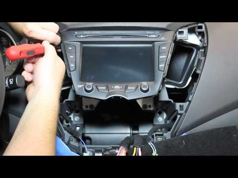 Hyundai Veloster Radio Removal